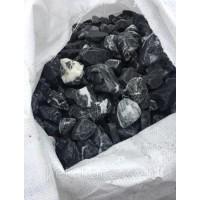 Мраморная крошка (черная с белыми прожилками) в биг-беге фр.10-20 мм. 1000 кг. / 1 тонна